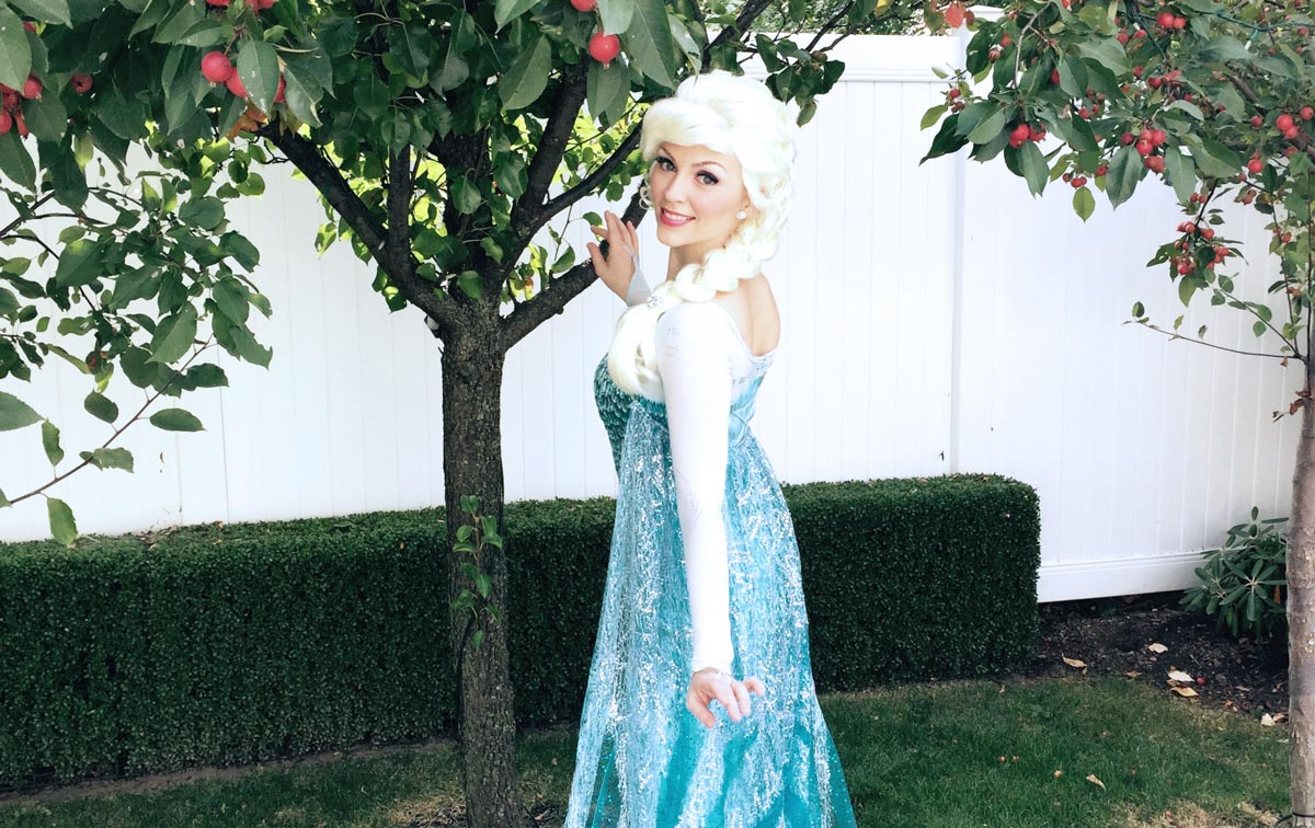 Queen Elsa Princess Party
