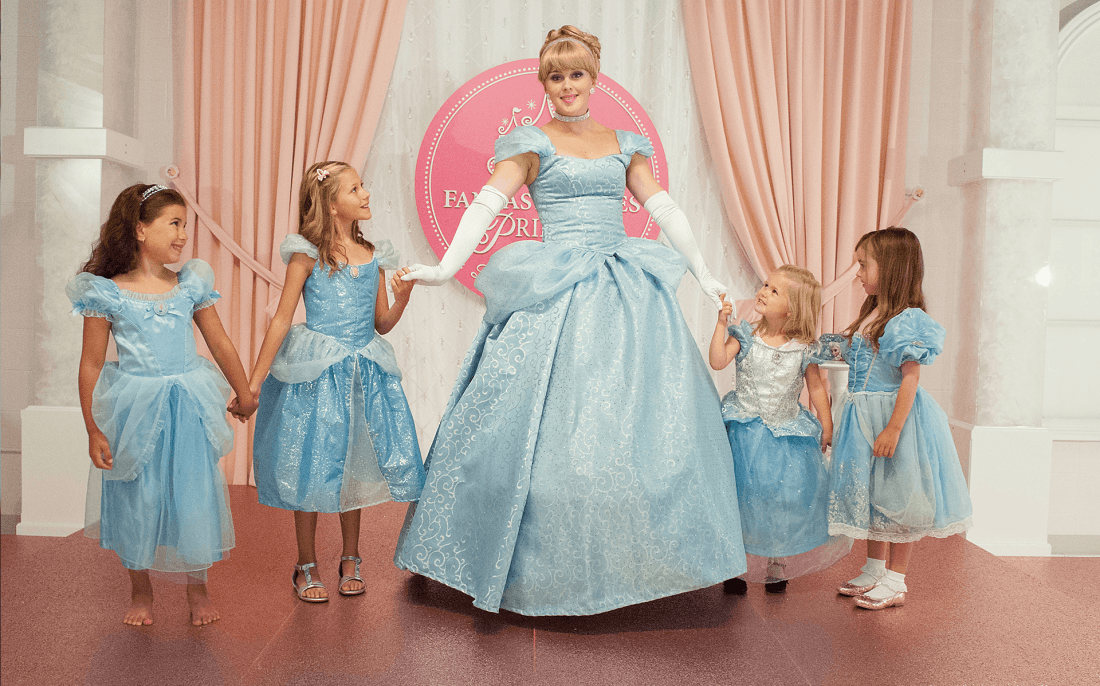 cinderella party ballroom